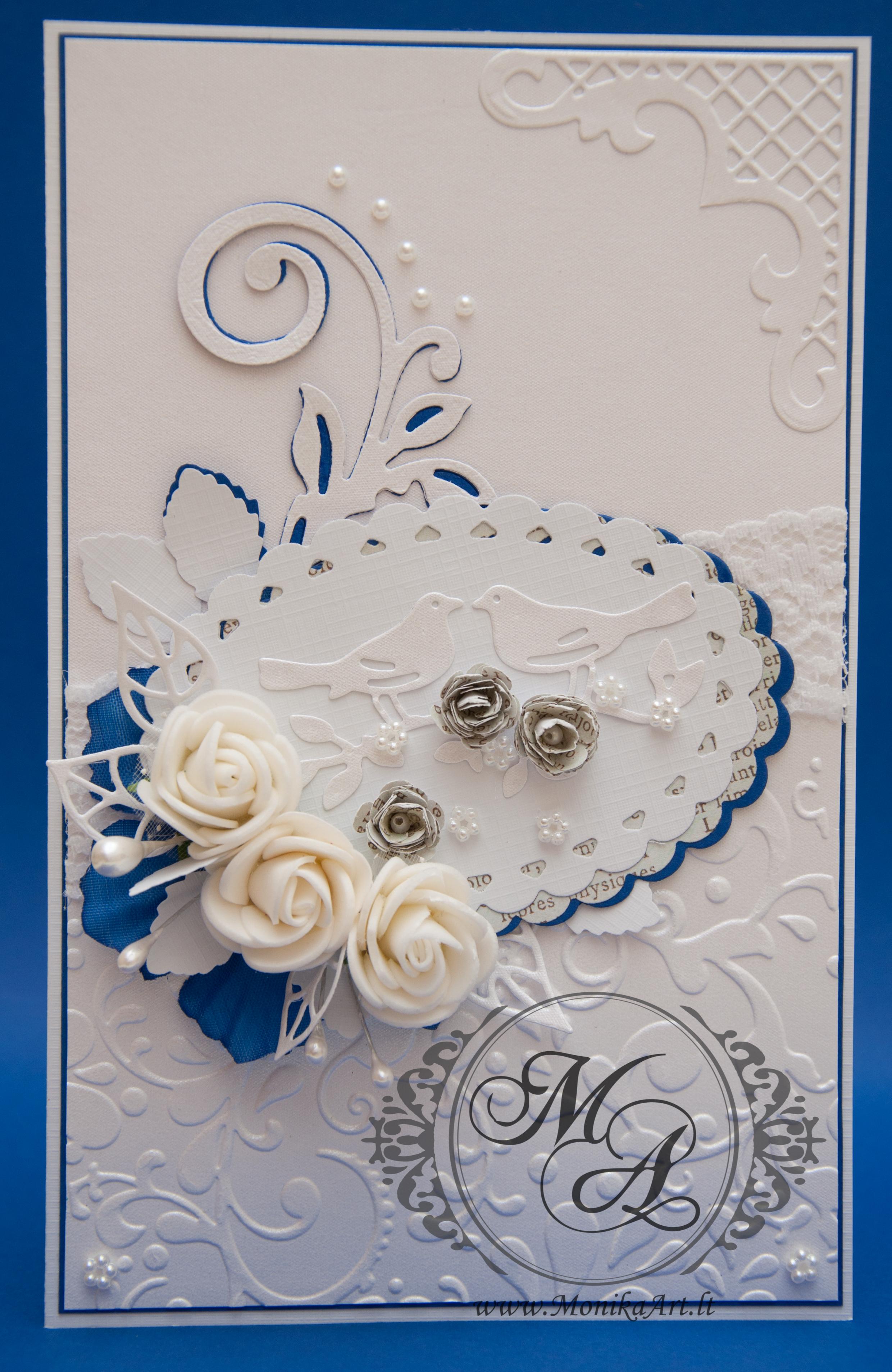 Vestuviniai atvirukai ranku darbo